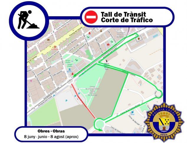 Image: Alternative routes to Camí de Sant Joan