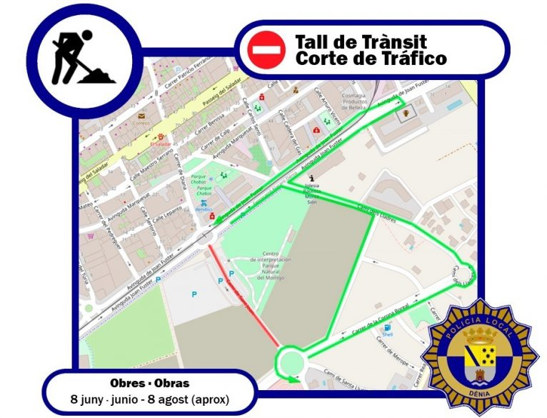 Alternative routes to Camí de Sant Joan