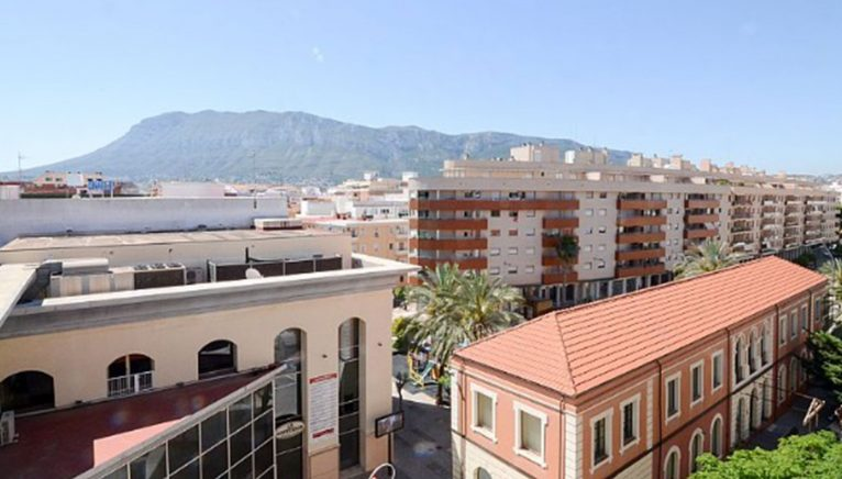 Views from a penthouse for sale in Dénia - Euroholding
