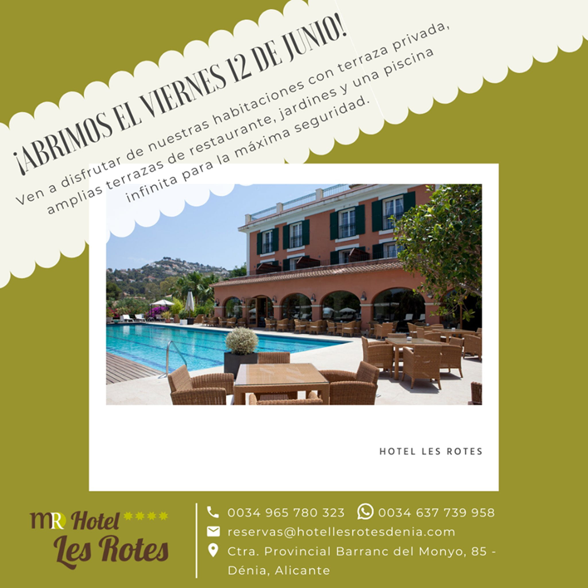 Hotel Les Rotes returns