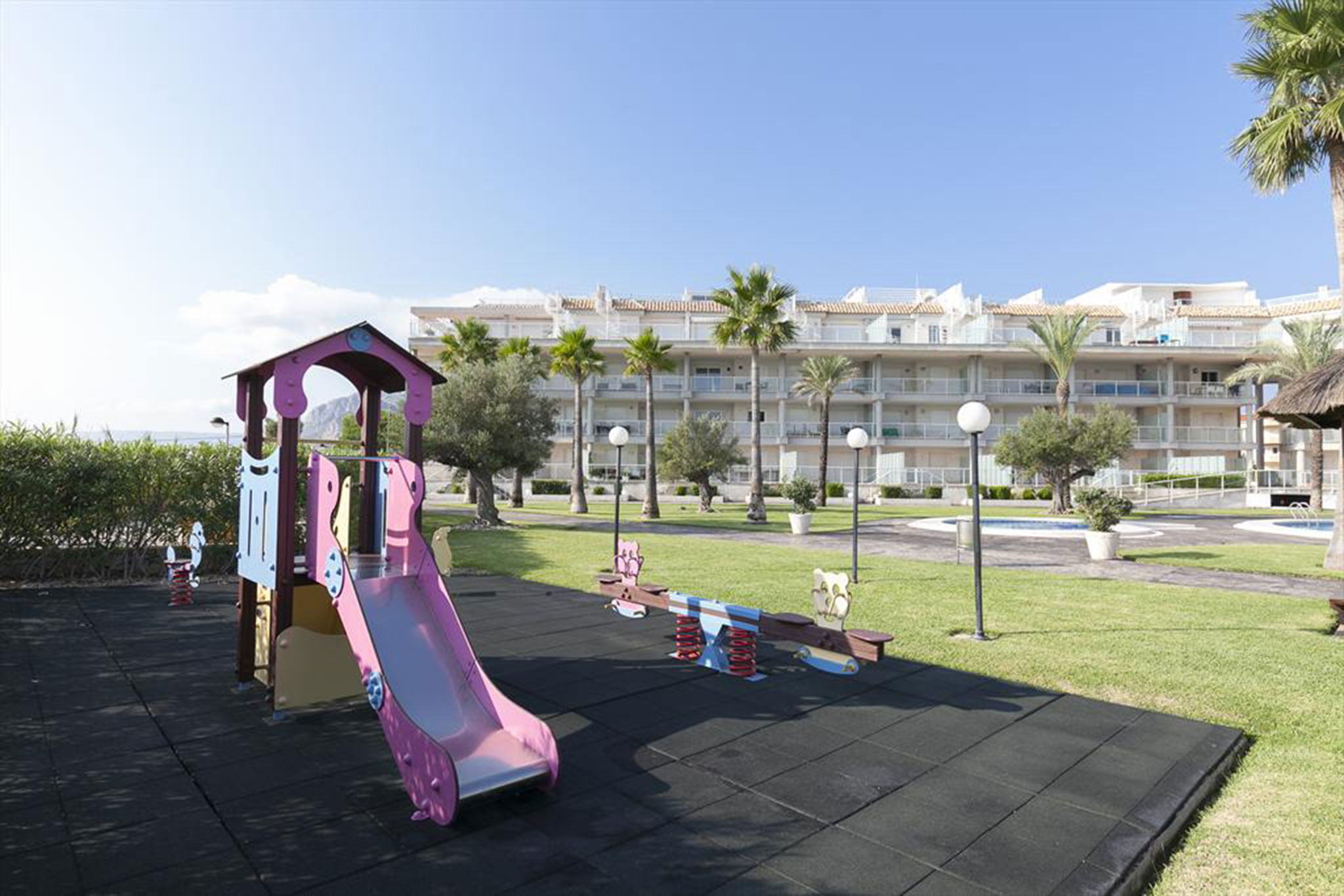Playground in an apartment for rent in Dénia - Quality Rent a Villa