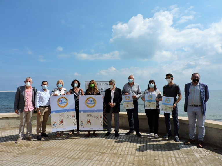 Dénia adhesion to the network of 'Smokeless Beaches'