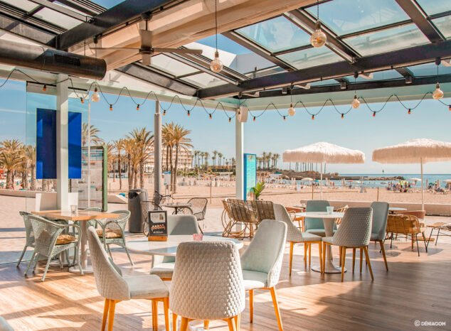 Imagen: Terraza de Restaurante Ammos