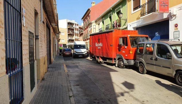 Imagen: Caos semetral por el cambio de estacionamiento