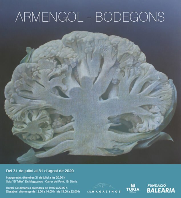 Imagen: Cartel de la exposición de Rafael Armengol en Dénia