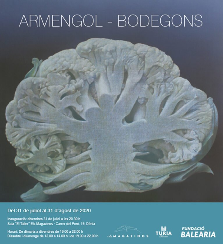 Poster for the Rafael Armengol exhibition in Dénia