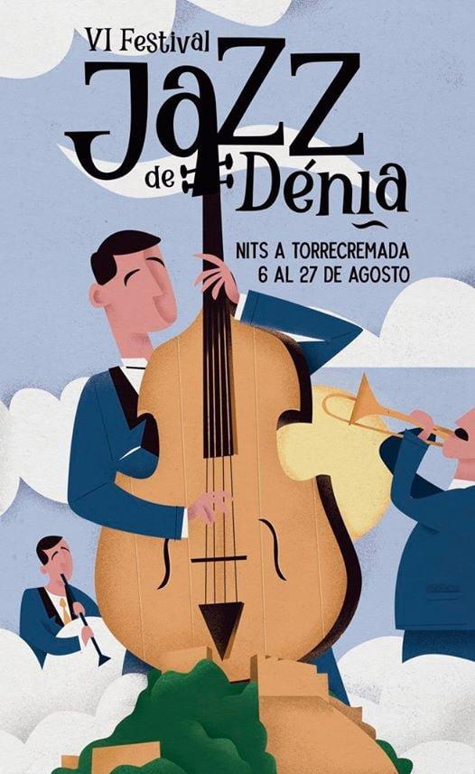 Cartel Jazz a Dénia