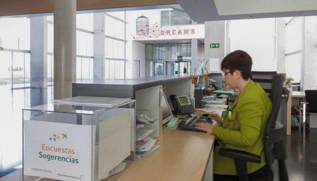 Imagen: Centralita del Hospital de Dénia