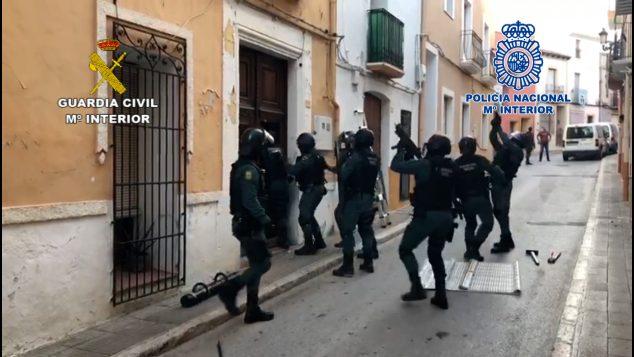 Imagen: Desarticulación de una banda criminal de droga