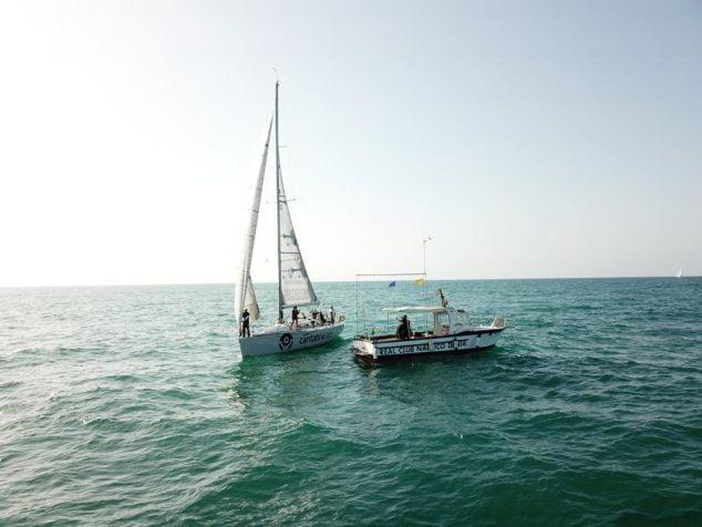 Imatge: Durant la regata