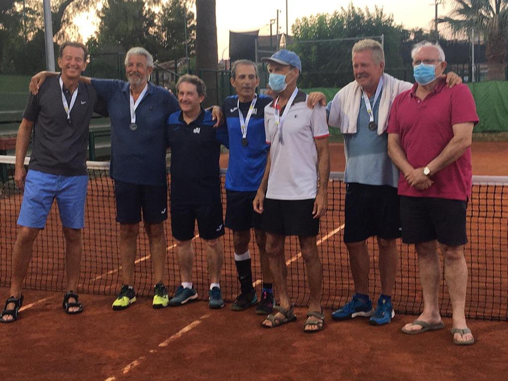 Equipo Veteranos + 60 Club Tenis Dénia