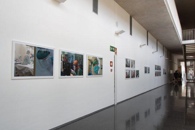 Изображение: выставка коронавируса в больнице Дения