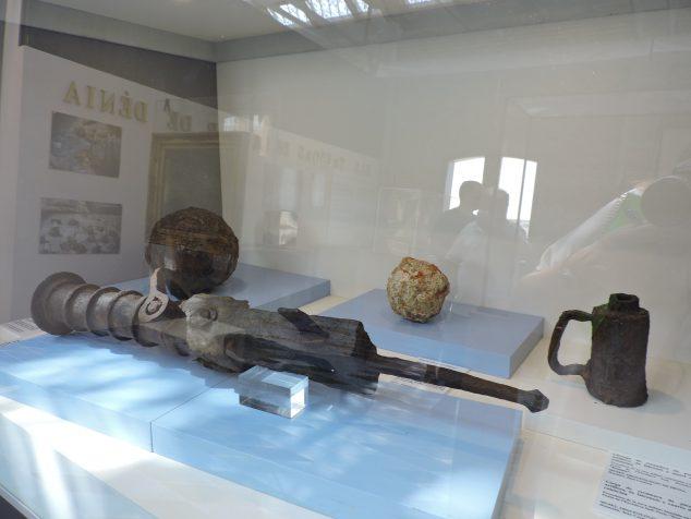 Imagen: Falconete donado por Vicent Luis Moncho al Museu Mar