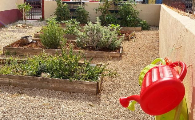 Image: Garden for children and care for them - CEI El Castellet