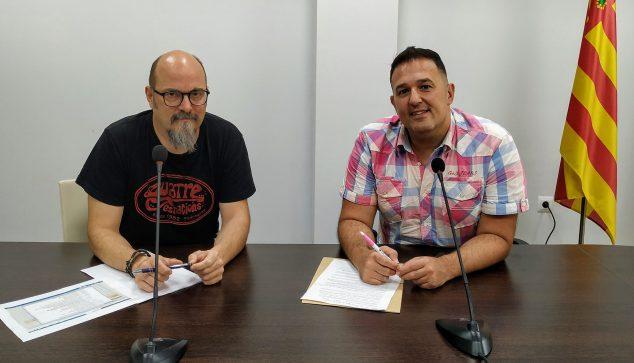 Imagen: Jovi Seser y Óscar Soria