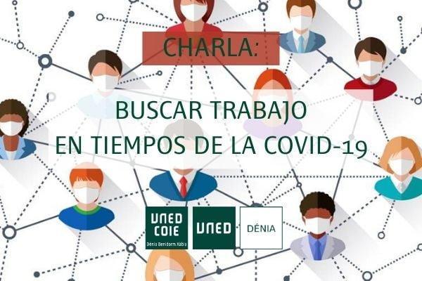 Imagen: NP Buscar trabajo en tiempos de la Covid-19 UNED Dénia