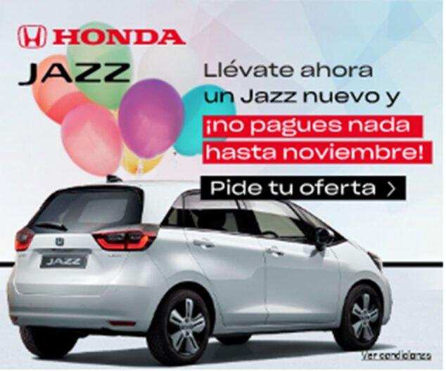 Image: Offer in the new Honda Jazz at Honda Ginestar Dénia