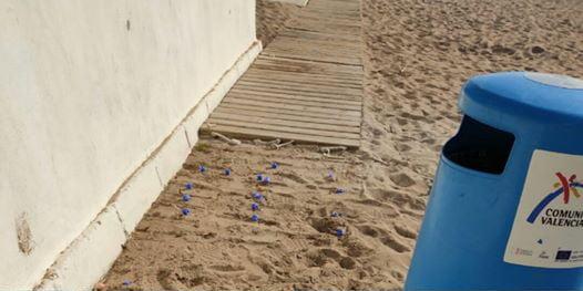 Image: Broken walkways and stolen planks