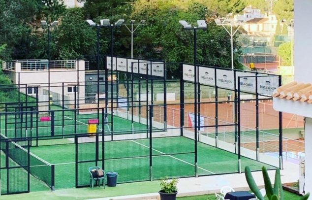 Immagine: campo da paddle tennis La Sella Golf