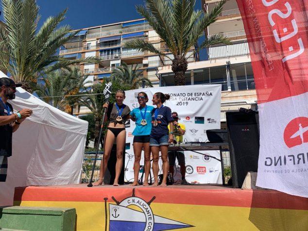 Image: Spanish Championship podium