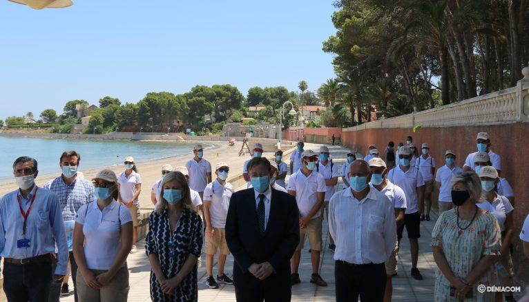 Presentación de los nuevos informadores de las playas valencianas