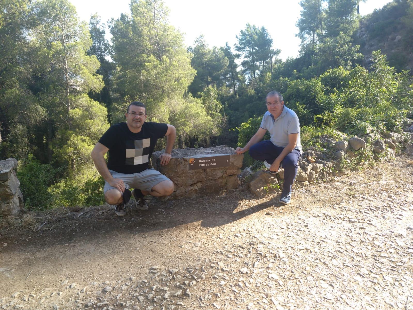 Rotulación de barrancos del Montgó