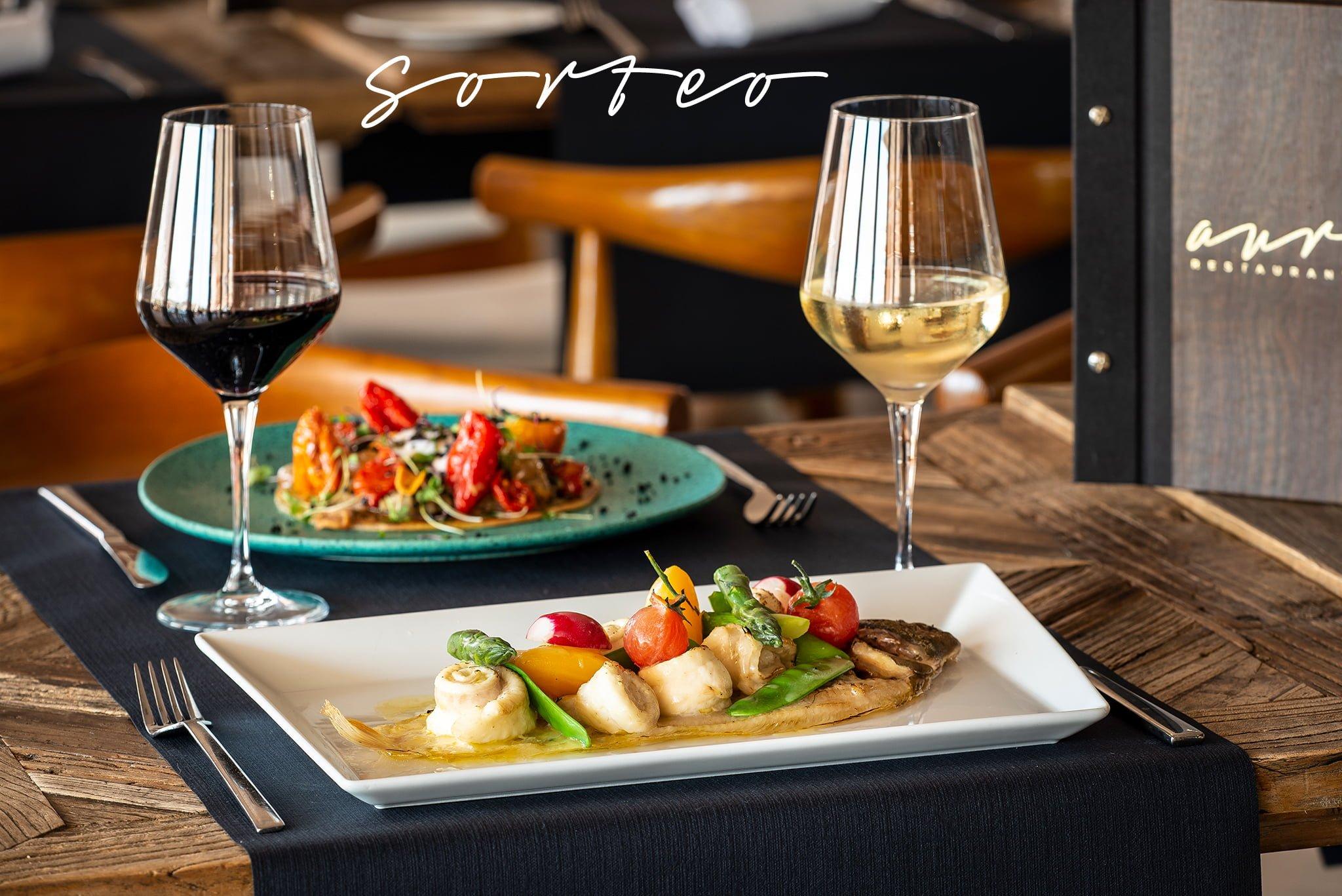 Sorteo de una cena para dos personas en Restaurante Aura – Oliva Nova