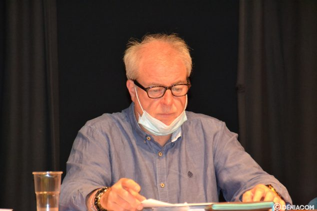 Imagen: Toni Lledó, Director Deportivo CD Dénia