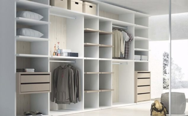 Image: Dressing room in light tones - Muebles Martínez