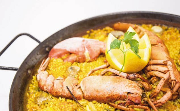 Image: Lobster rice in Dénia - Arrozes