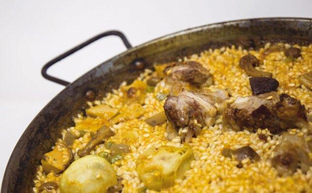 Imagen: Arroz con carne y verdura - Arrozes
