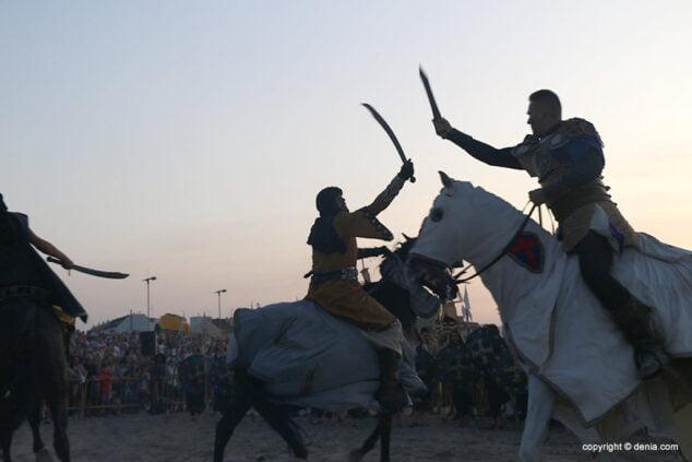 Imagen: Batalla en la playa de Dénia