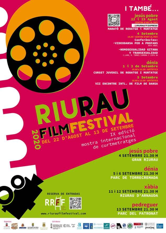 Bild: Plakat des Riurauer Filmfestivals 2020