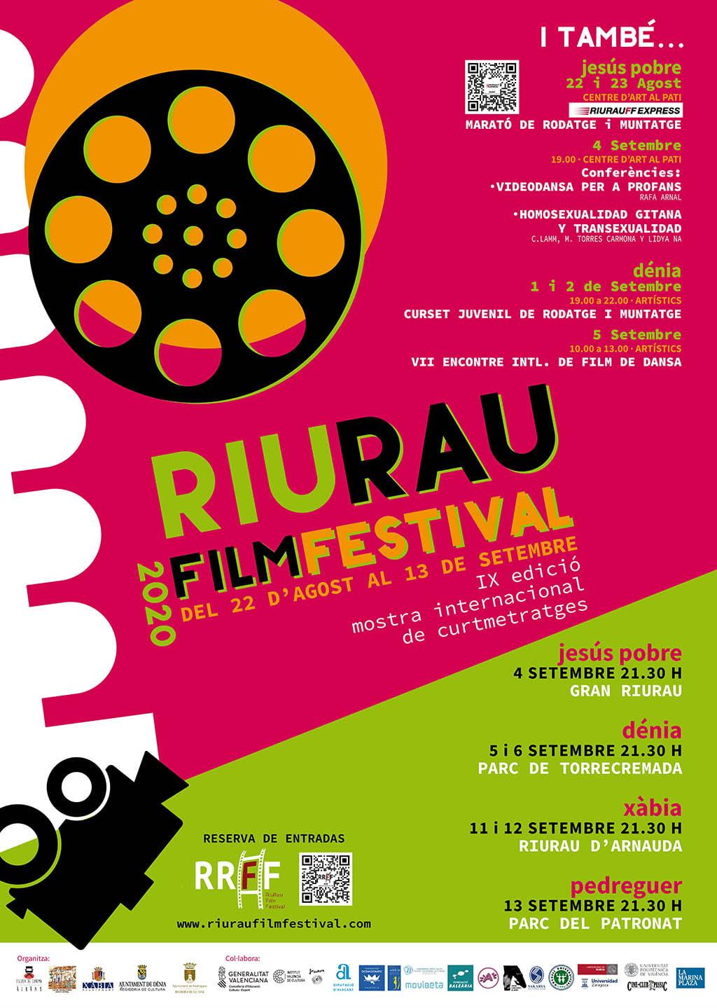Cartel del Riurau Film Festival 2020