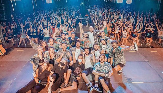Image: Concert they gave in Alzira in front of 700 people   Photo by GarayGreen