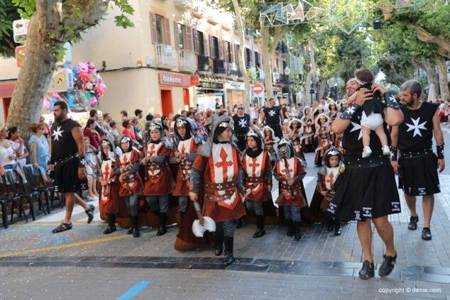 Imagen: Desfile infantil de Moros y Cristianos de 2019