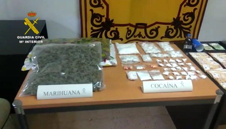 Droga incautada por la Guardia Civil en Calp