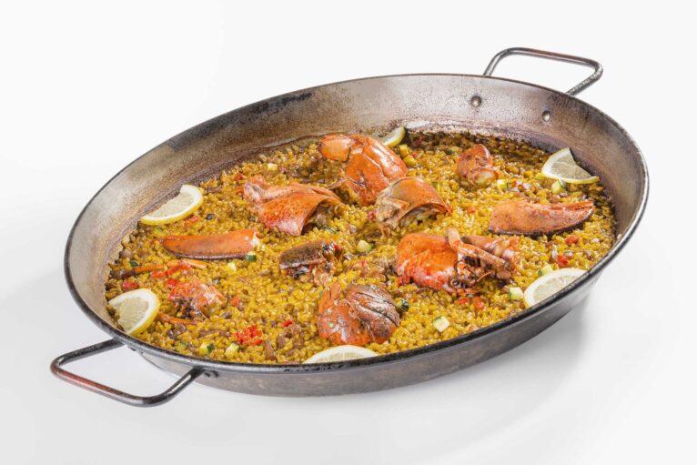 Exquisita paella en Oliva Nova