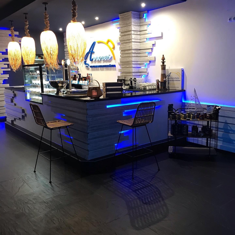 Interior Arrozes – cocina mediterránea en Dénia