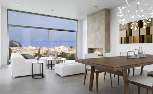 Image: Intérieur de la Casa Diana, par Lucas Graf Projects