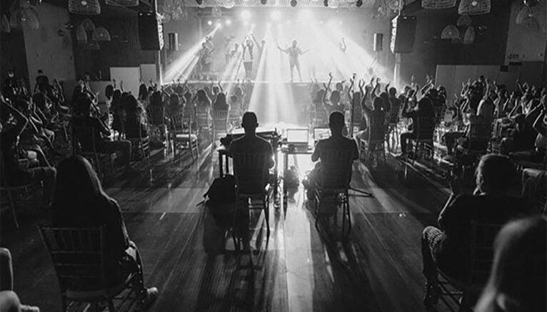 La Fúmiga sobre el escenario | Foto de GarayGreen