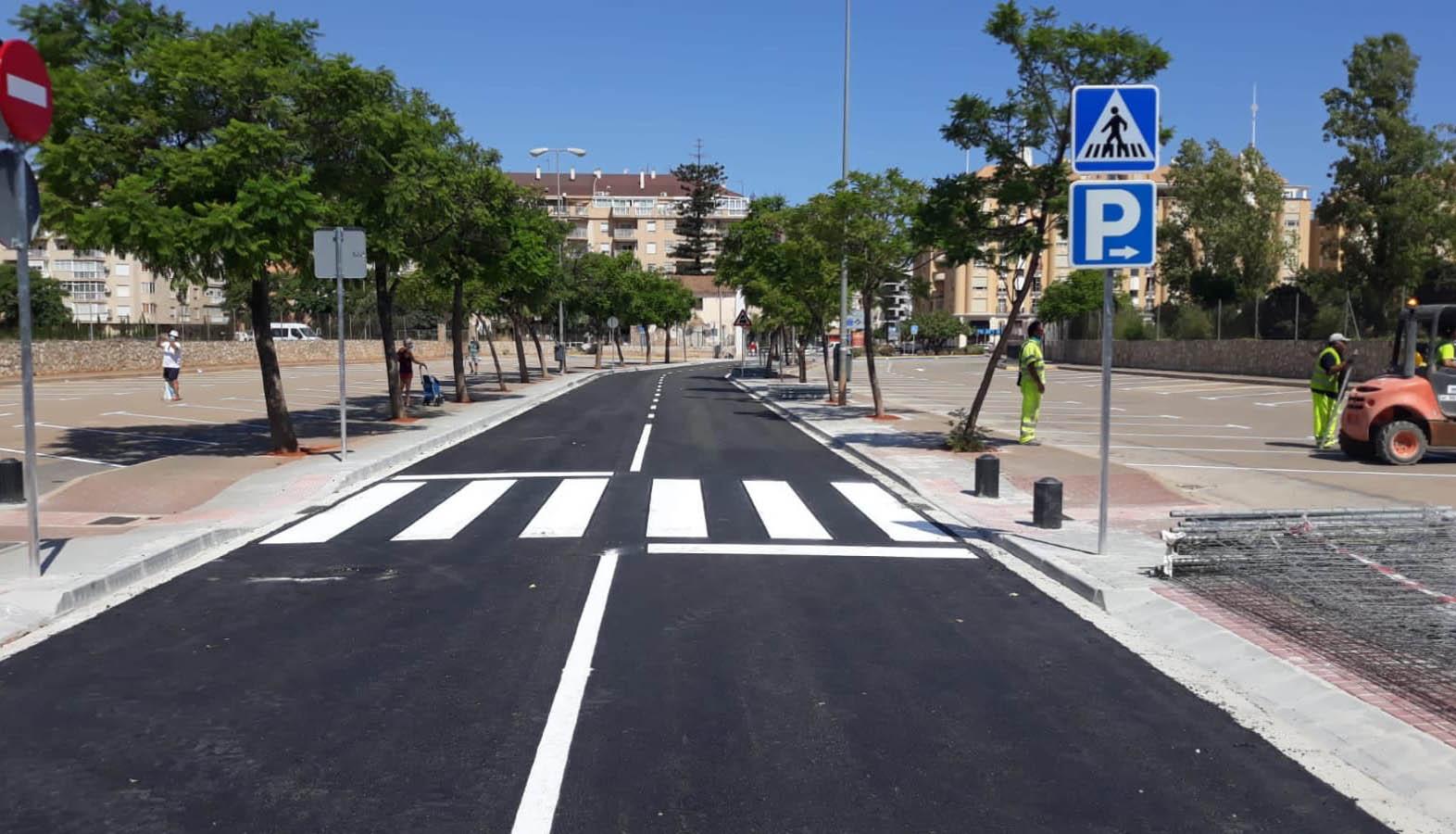 Obras finalizadas en el Camí de Sant Joan