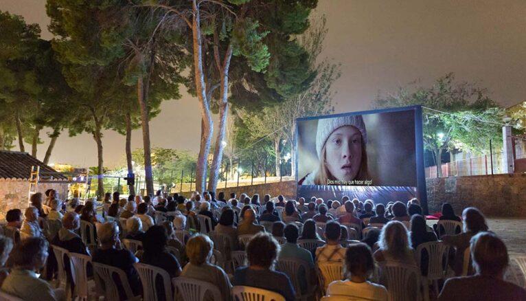 Proyección en el Riurau Film Festival