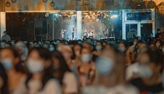 Image: Audience during a La Fúmiga concert   Photo by GarayGreen