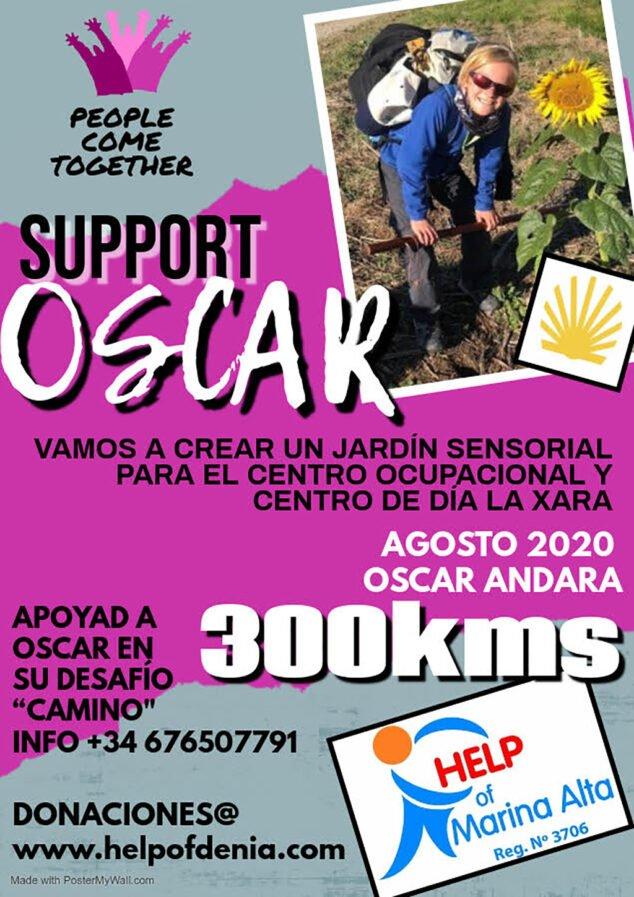 Image: Oscar solidarity challenge