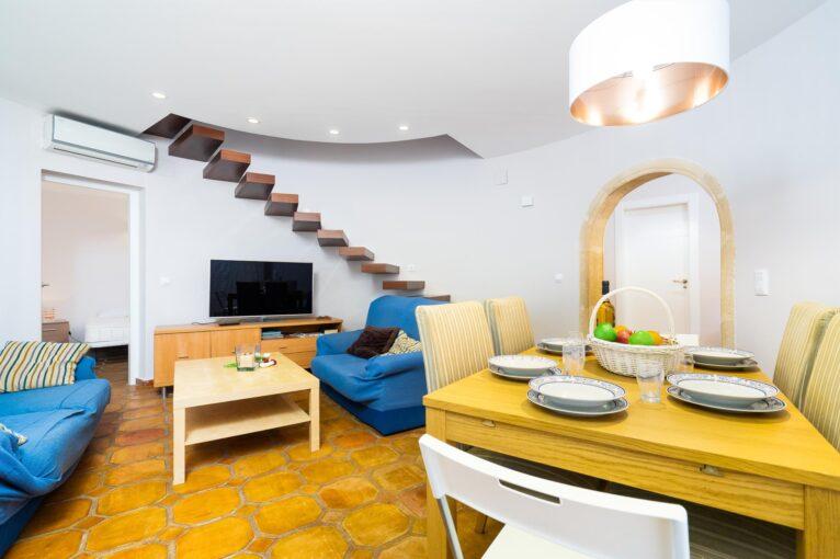 Salón casa Denia Aguilar Rent a Villa