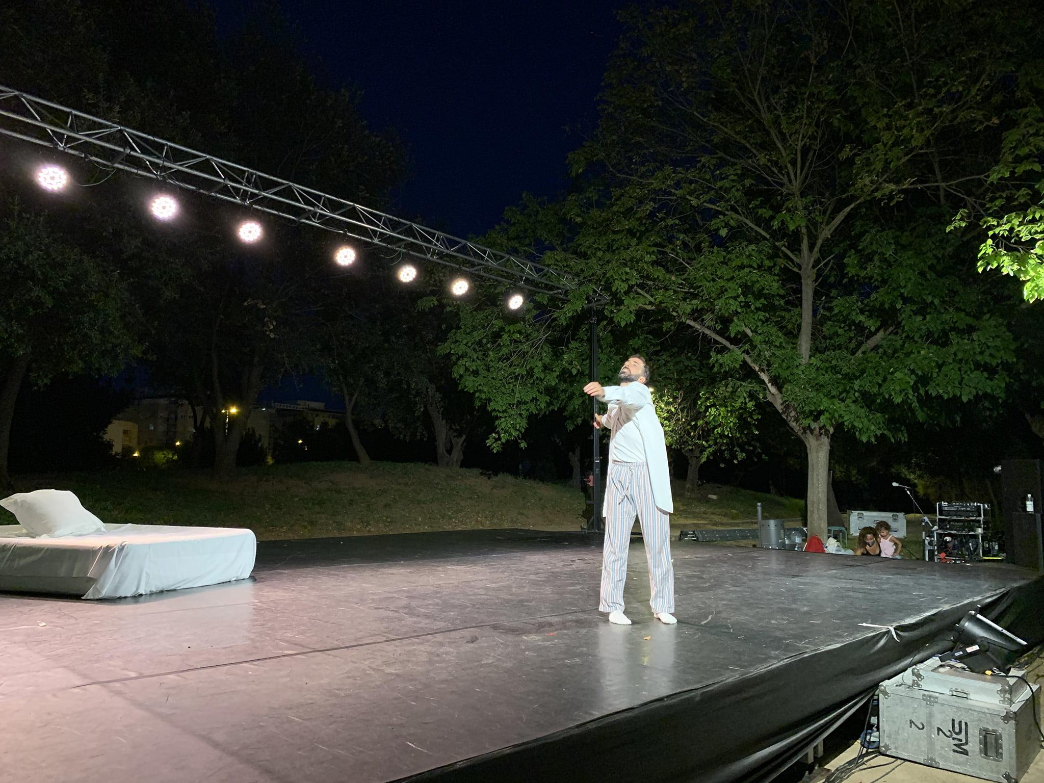 Actuación en el festival Dansant la Marina 01