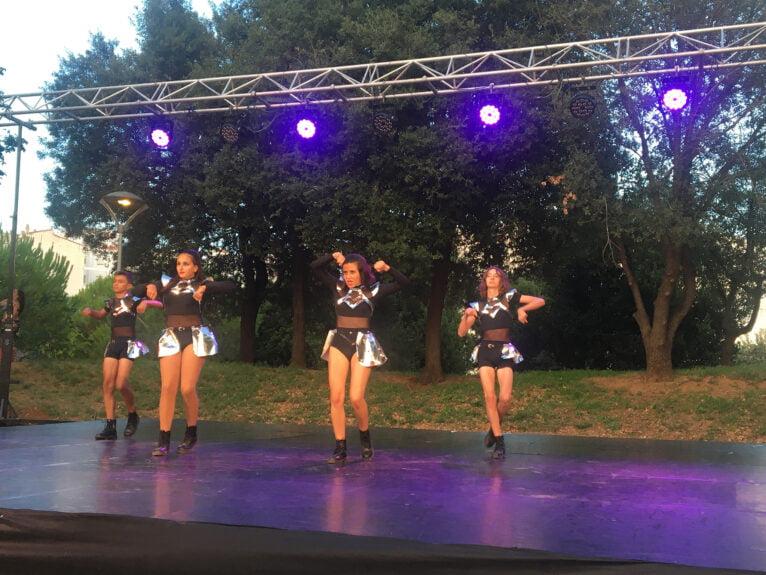 Actuación en el festival Dansant la Marina 03
