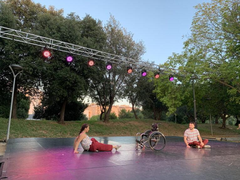 Performance au festival Dansant la Marina