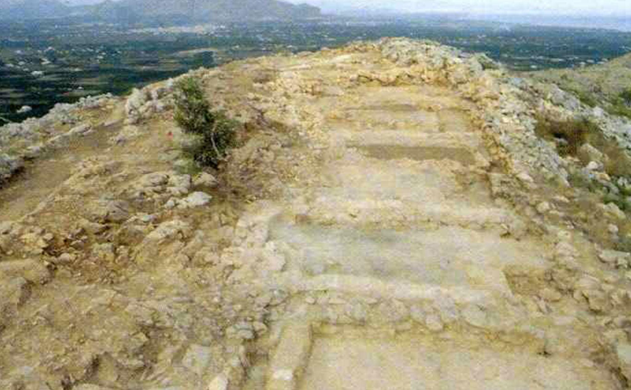 Asentamiento íbero en el Montgó: l'Alt de Benimaquia